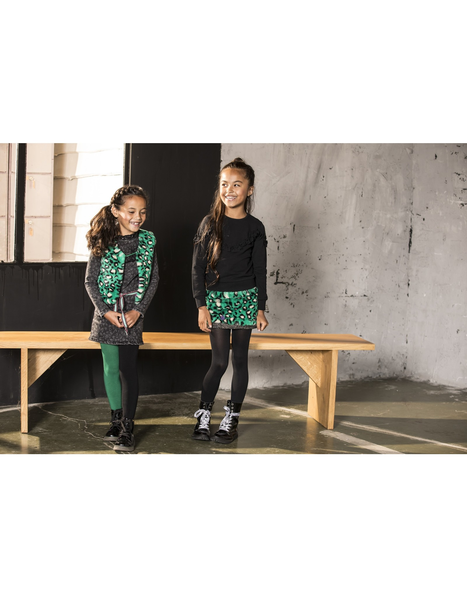 B.Nosy B.Nosy Girls Maillot left and right s emerald green