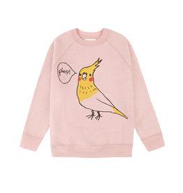 Nadadelazos Nadadelazos Sweatshirt Pitti Bird Dark Pink