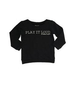 Shout it Out Shout it Out Sweater Play it Loud Black