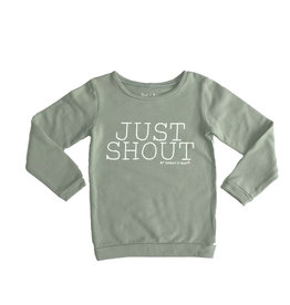 Shout it Out Shout it Out Sweater Just Shout Light Khaki