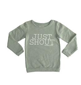 Shout it Out Shout it Out Sweater Just Shout Light Khaki