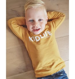 Shout it Out Shout it Out Sweater Kidlife Ocre