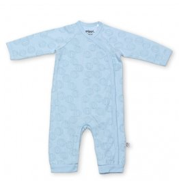 Pippi Pippi-Premature-Jumpsuit Wrap-Around-AOP Baby Blue