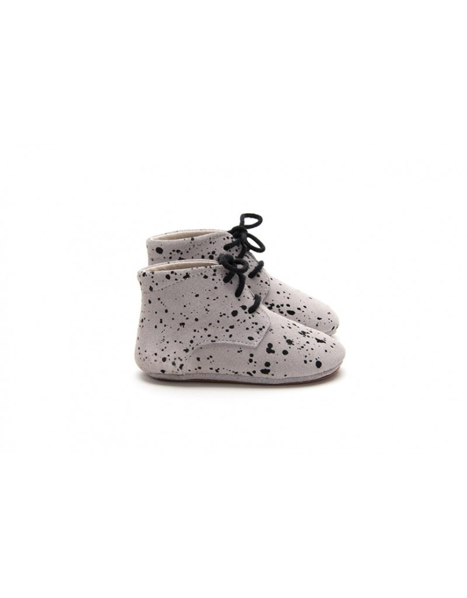 Mockies Mockies Classic Boots Taupe Paint