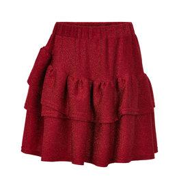 Creamie Creamie Skirt Glitter Jersey Crimson