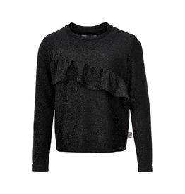 Creamie Creamie T-shirt Glitter Jersey Longsleeve Black