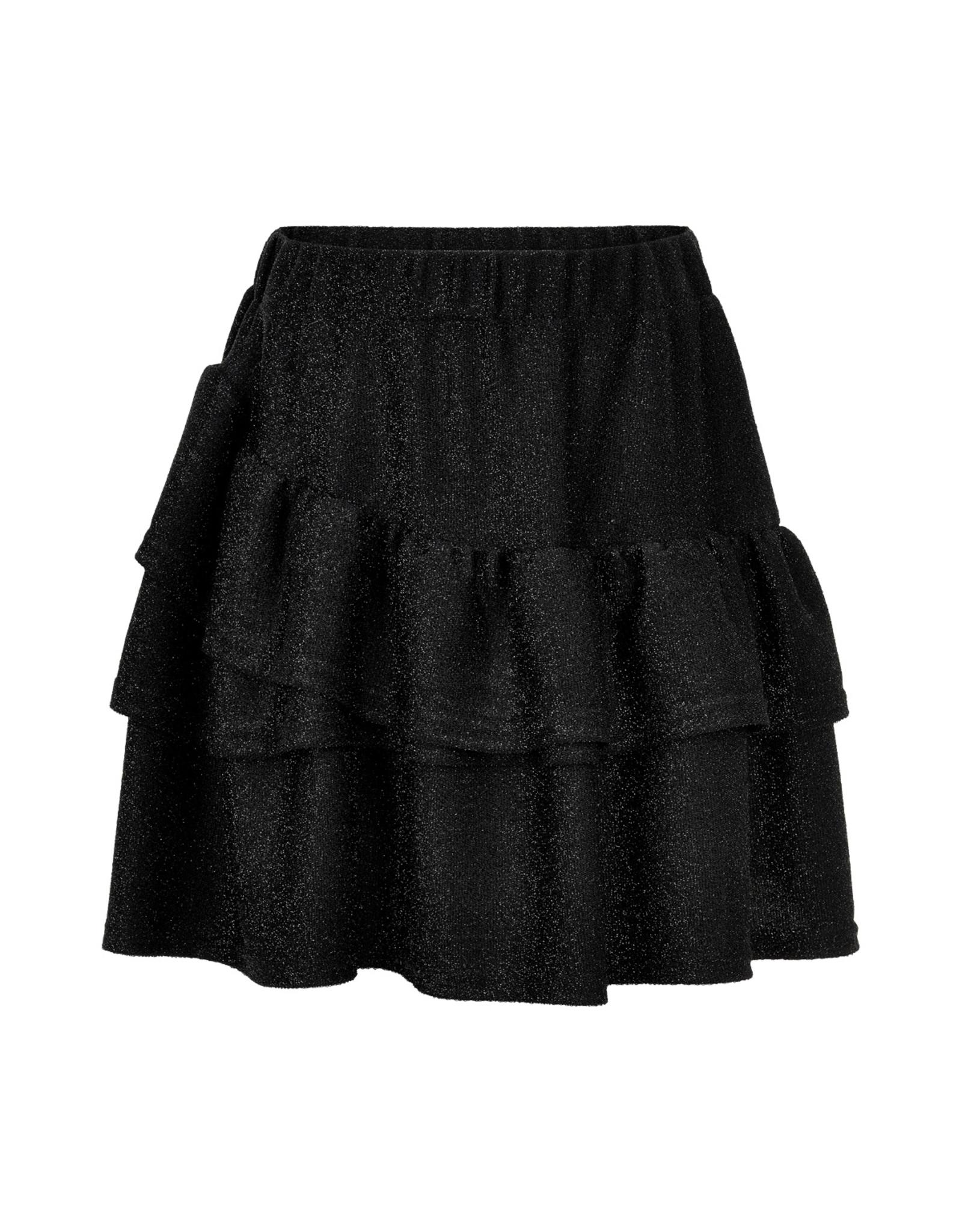 Creamie Creamie Skirt Glitter Jersey Black