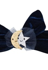 Billy Loves Audrey Billy Loves Audrey Wish Upon a Star velvet Haarband navy