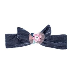 Billy Loves Audrey Billy Loves Audrey Magic FLower Velvet Tie Headband
