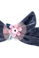 Billy Loves Audrey Billy Loves Audrey Magic FLower Velvet Tie Headband