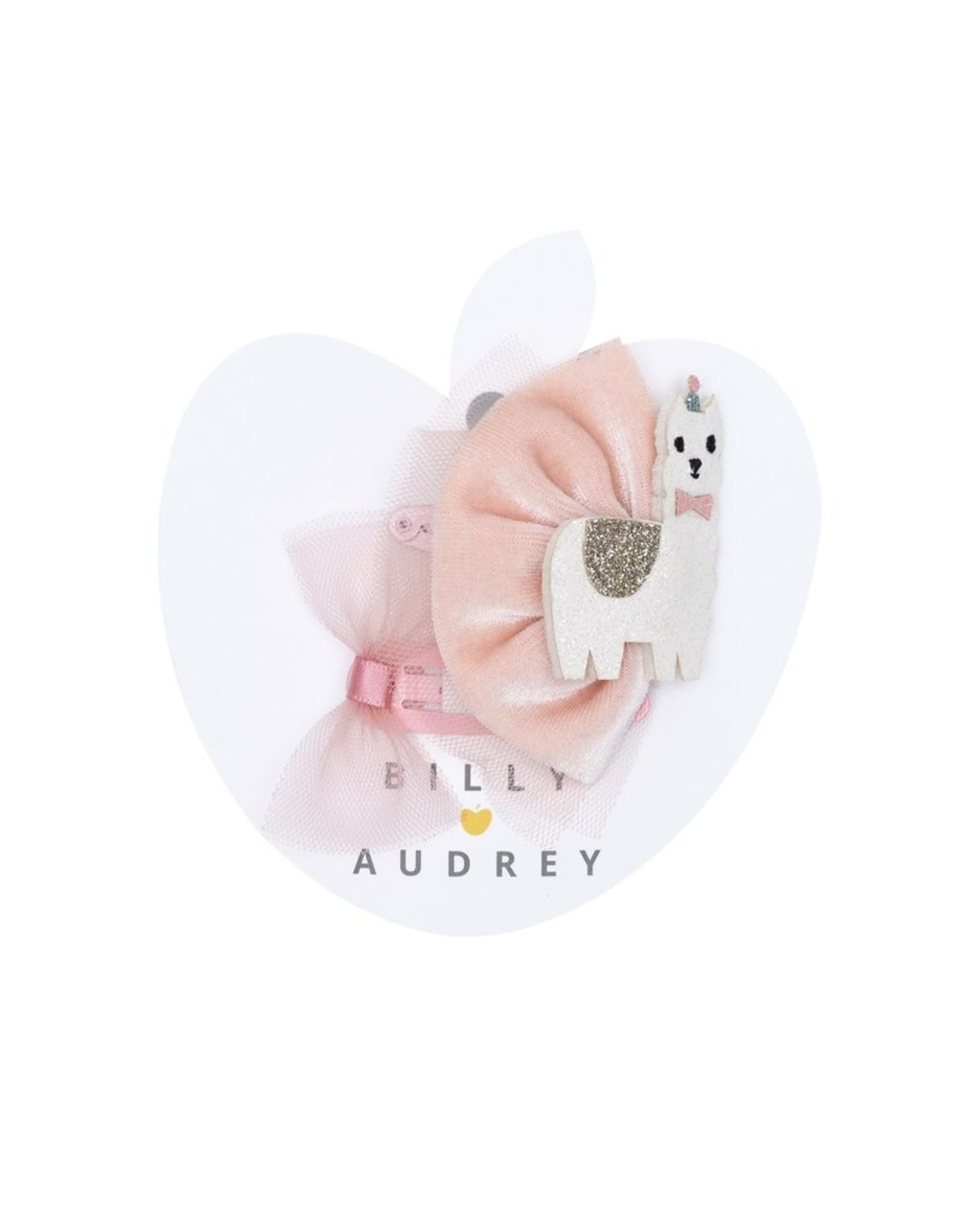 Billy Loves Audrey Billy Loves Audrey Llama haarclipjes set