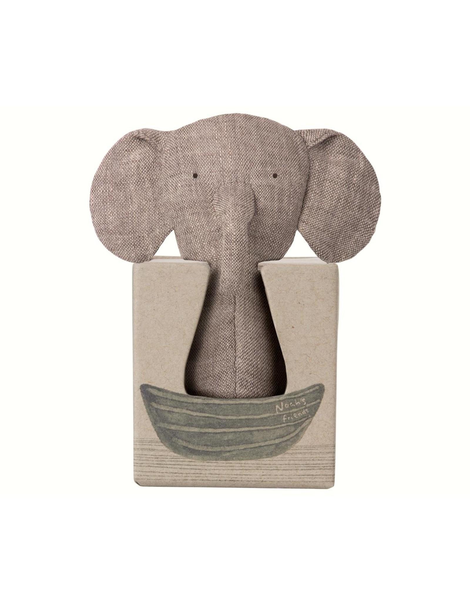 Maileg Maileg Noah's Friends, Elephant Rattle