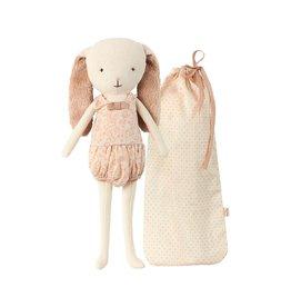 Maileg Maileg Bunny Bell in Bag Rose