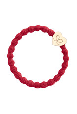 By Eloise By Eloise Gold Heart Cherry Red