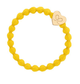 By Eloise By Eloise Gold Heart Mustard Yellow