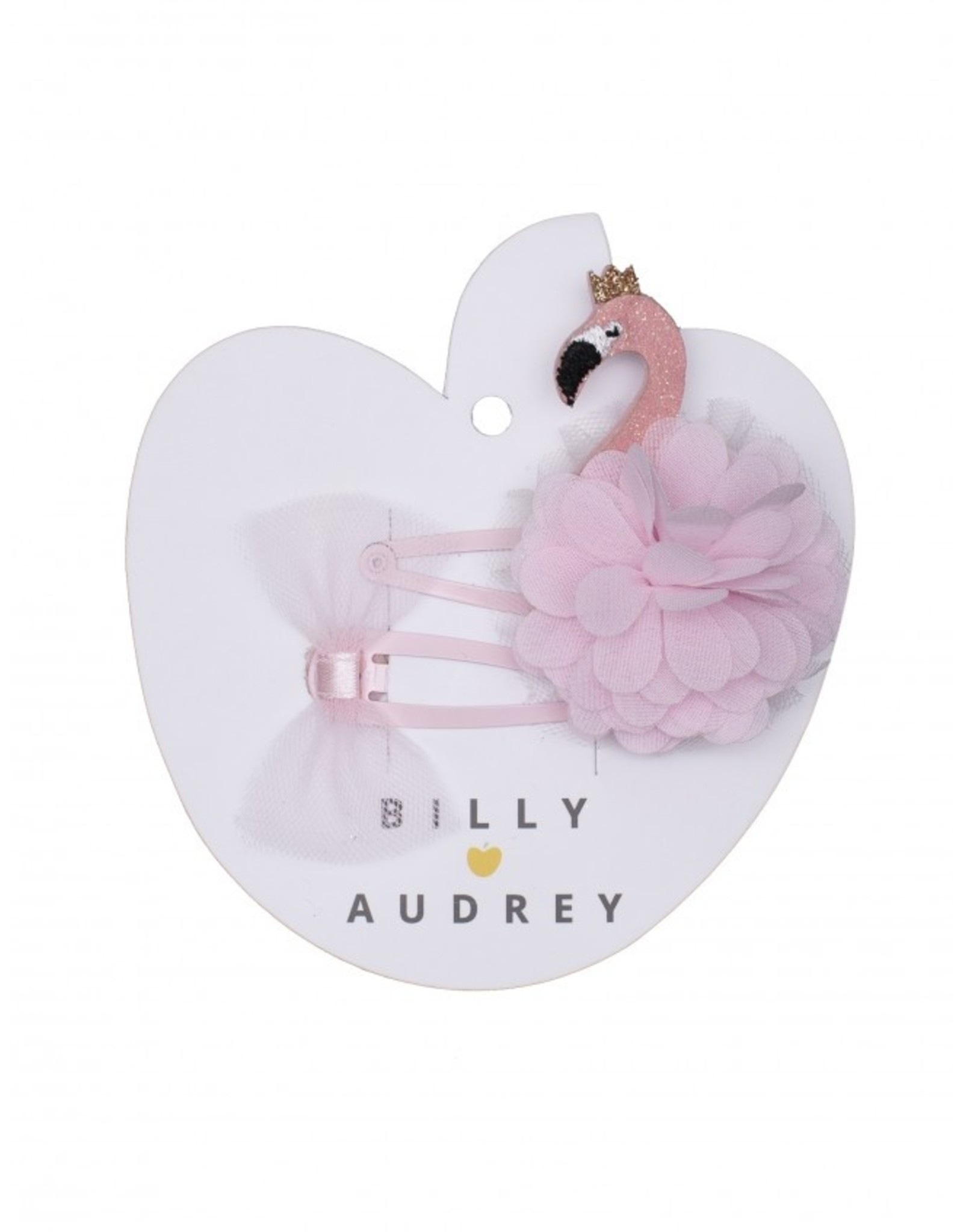 Billy Loves Audrey Billy Loves Audrey Flamingo Clipjes Duo Set
