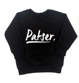 KMDB KMDB Baby Sweater Echo Patser Zwart