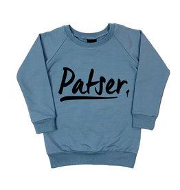 KMDB KMDB Kinder Sweater Echo Patser Blauw