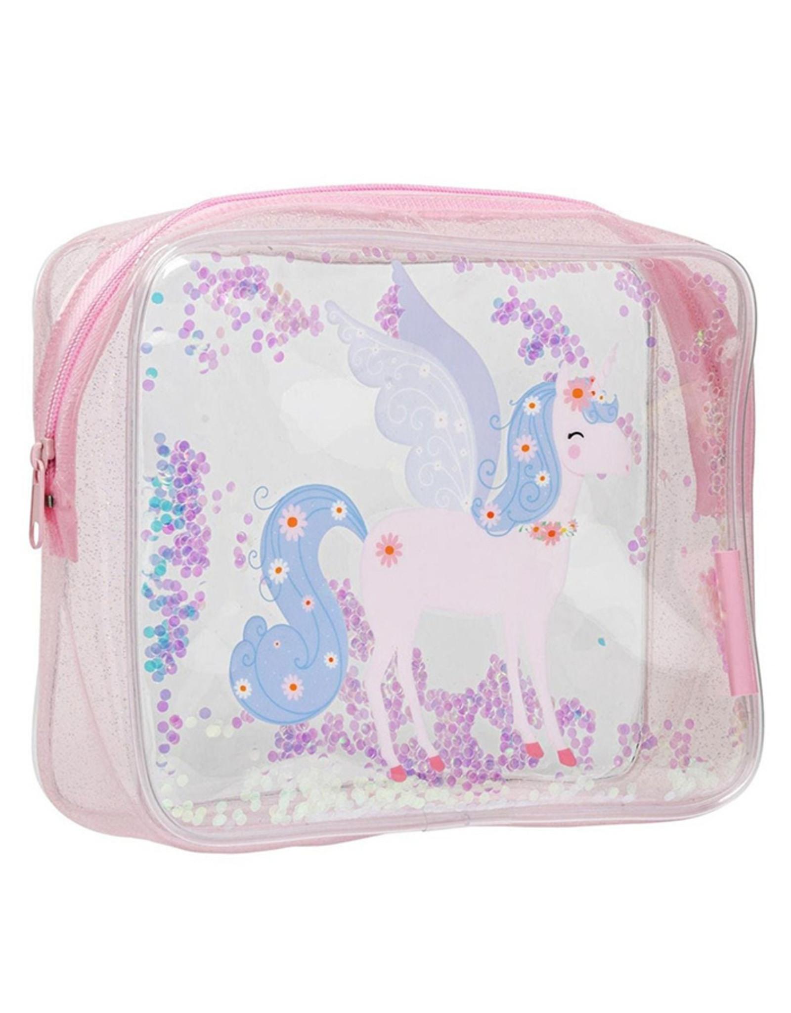 A little lovely company A Little Lovely Company Toilettasje Glitter Unicorn