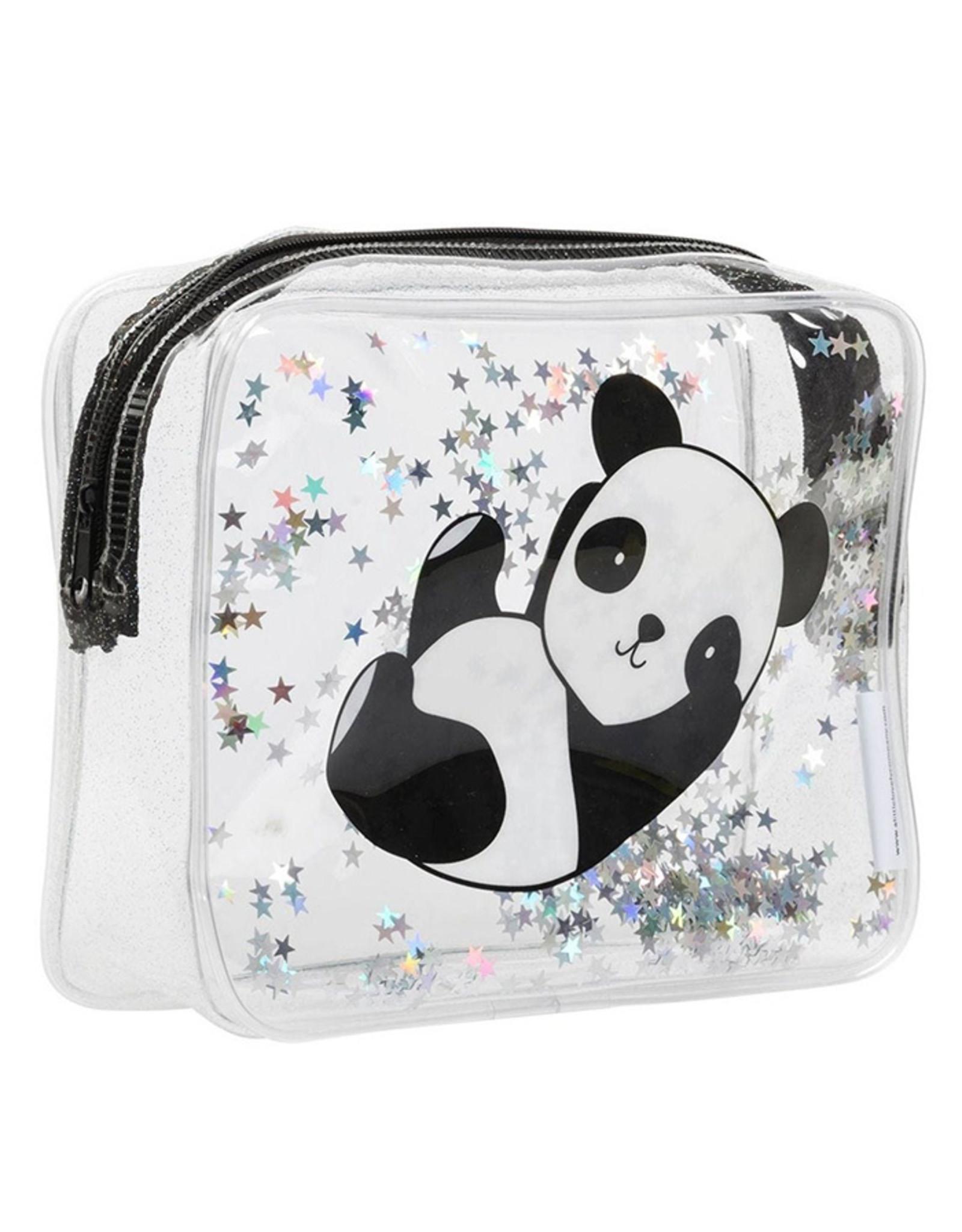 A little lovely company A Little Lovely Company Toilettasje Glitter Panda