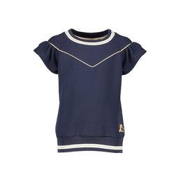 NONO NONO Kamba short sleeve T-shirt V Shape Navy Blazer