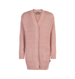 Creamie Creamie Cardigan Long Rose Smoke