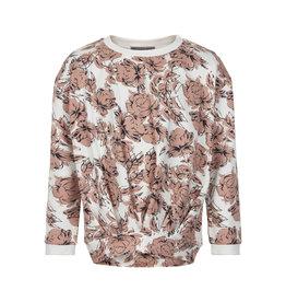 Creamie Creamie Sweatshirt Big Flowers Cloud