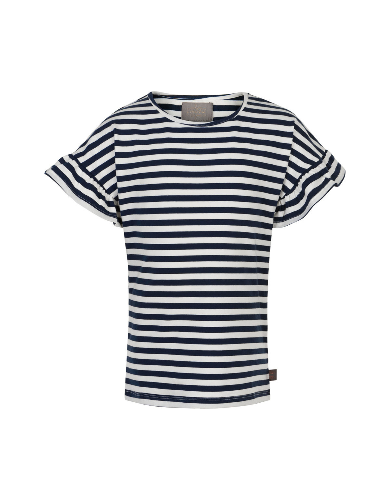 Creamie Creamie T-shirt Stripe short sleeve Total Eclipse