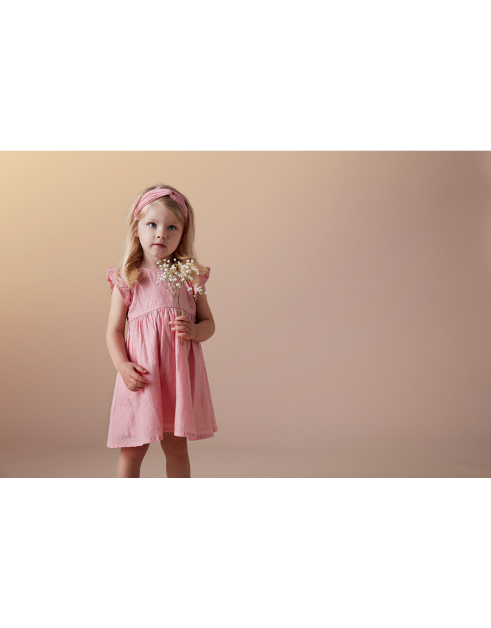 "Creamie Creamie Dress Silver Stripe- ""Pink Lcing"""