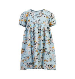 "Creamie Creamie Dress Flower Dobby-""Celestial Blue"""