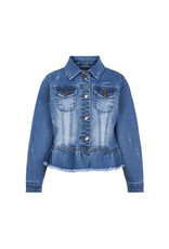 Creamie Creamie Jacket Denim Light Blue