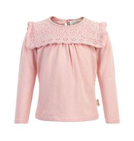Creamie Creamie T-shirt Lace Longsleeve Rose Smoke