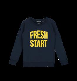 Nik&Nik NIK&NIK Fresh Start Sweater Faded Dark Blue