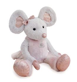 Doudou et compagnie Doudou Star Mouse Knuffel - 60 CM