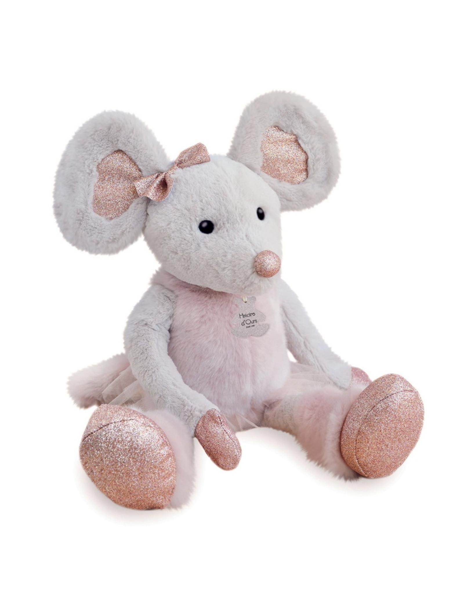 Doudou et compagnie Doudou Star Mouse Knuffel - 37 cm