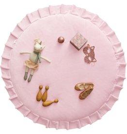 Doudou et compagnie WigiWama  Velvet Speelkleed Pink