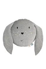 Doudou et compagnie WigiWama  Toy Cushion Bunny Grey