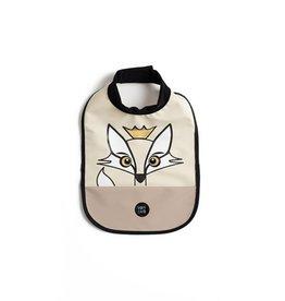 Baby Livia Baby Livia Hig neck bib - Fox soft beige