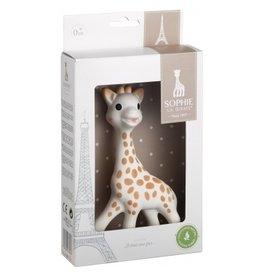 kleine giraf Sophie de Giraf in witte geschenkdoos