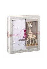 kleine giraf Sophie de Giraf Sophiesticated cadeauset medium set 2
