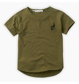 Sproet & Sprout Sproet & Sprout T-shirt Raglan Cockatoo Tropical Green