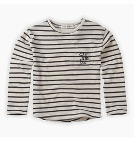 Sproet & Sprout Sproet & Sprout T-shirt Longsleeve Stripe Summer White