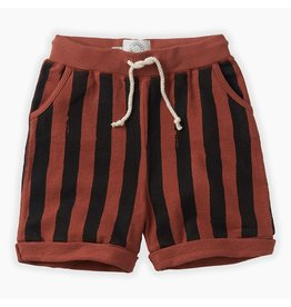 Sproet & Sprout Sproet & Sprout Shorts Painted Stripe Mango