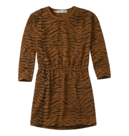 Sproet & Sprout Sproet & Sprout Dress Print Tiger Caramel