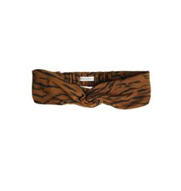 Sproet & Sprout Sproet & Sprout Turban Headband Tiger Caramel