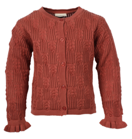 EN FANT EN FANT Knit Cardigan GOTS Canyon Rose
