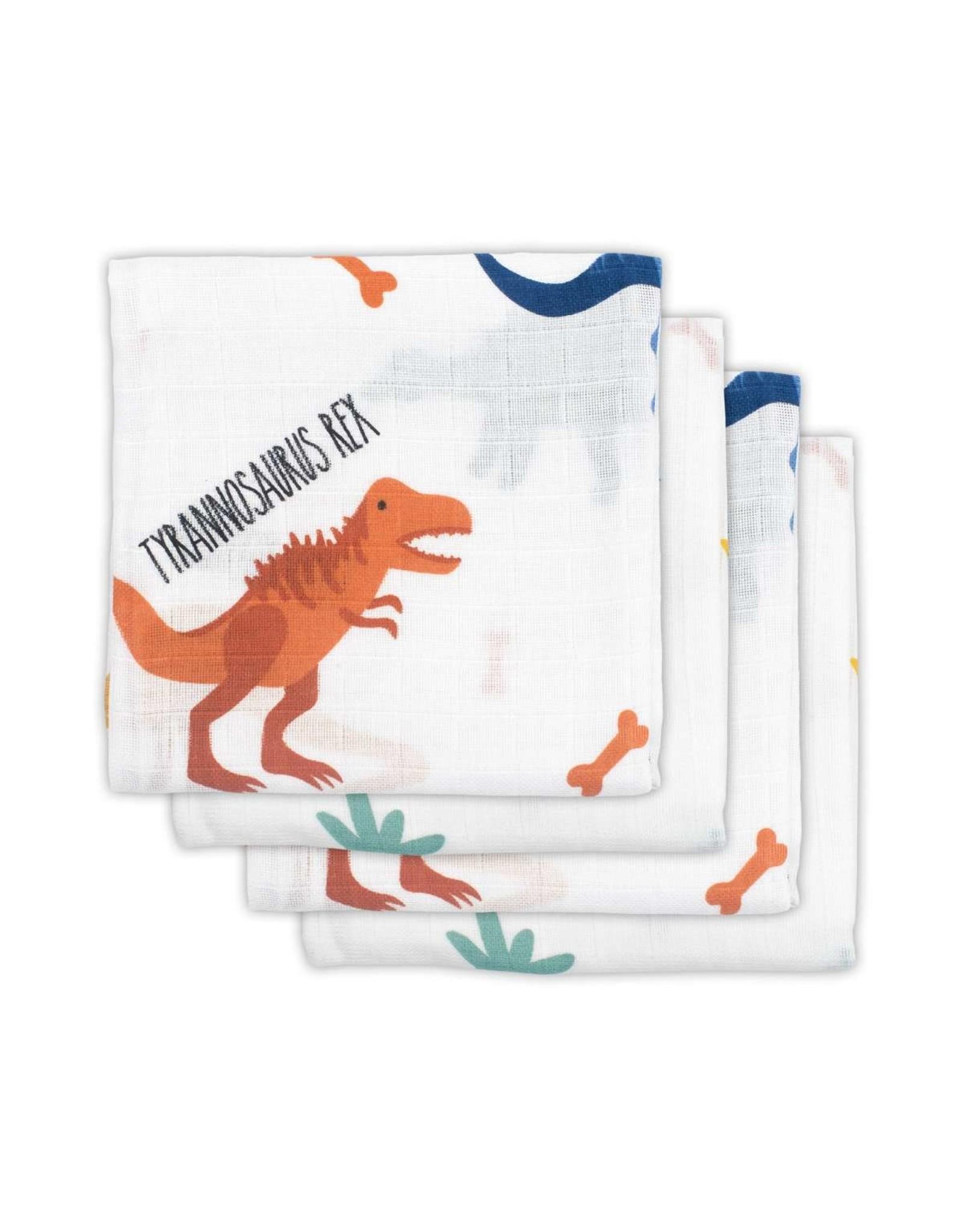 Jollein Jollein Hydrofiel Multidoek 70x70cm Dino (4 pack)