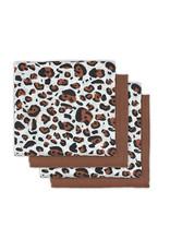 Jollein Jollein Hydrofiel Multidoek Leopard Natural  70x70 (4 pack)