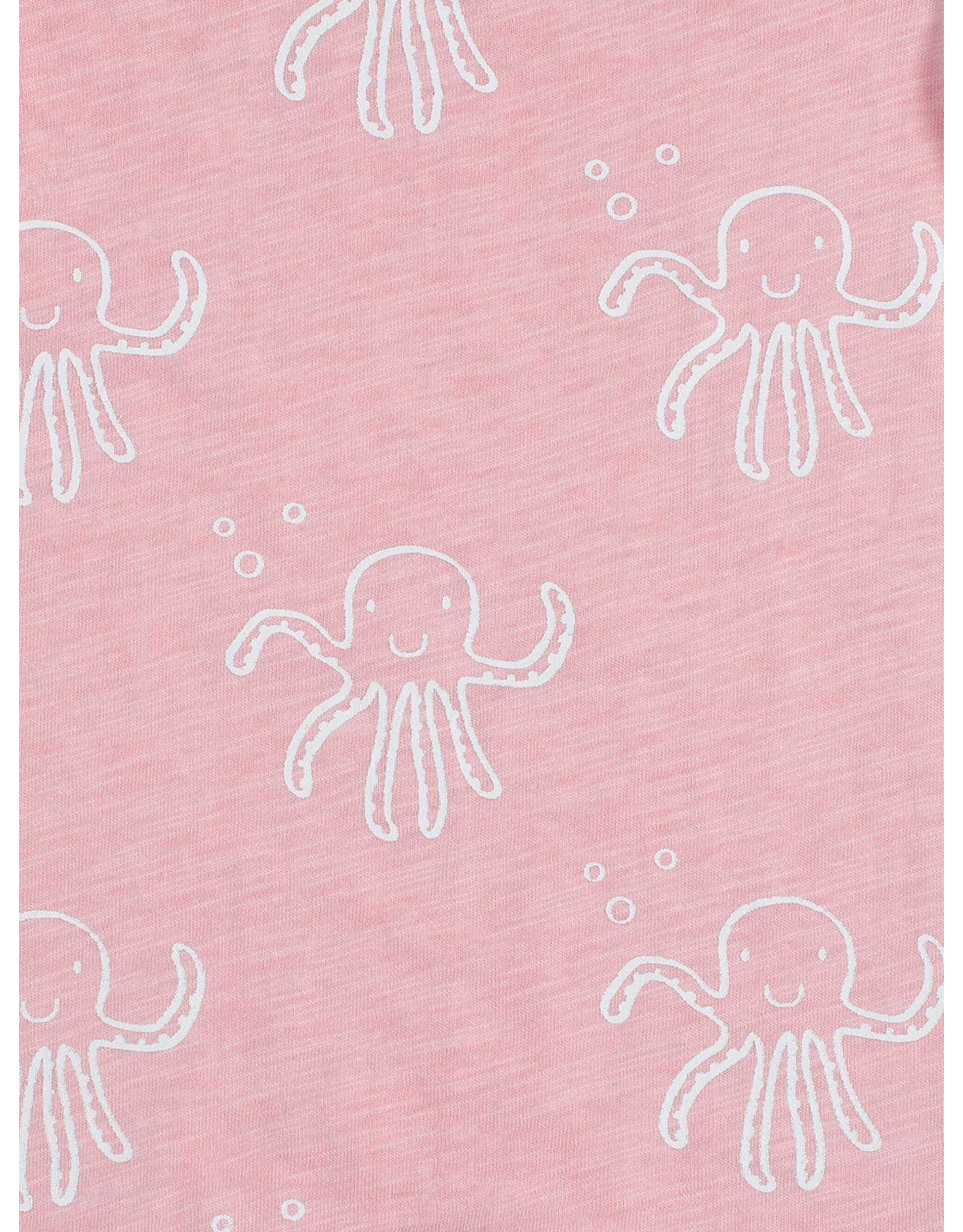 Jollein Jollein Romper korte mouw Octopus Pink