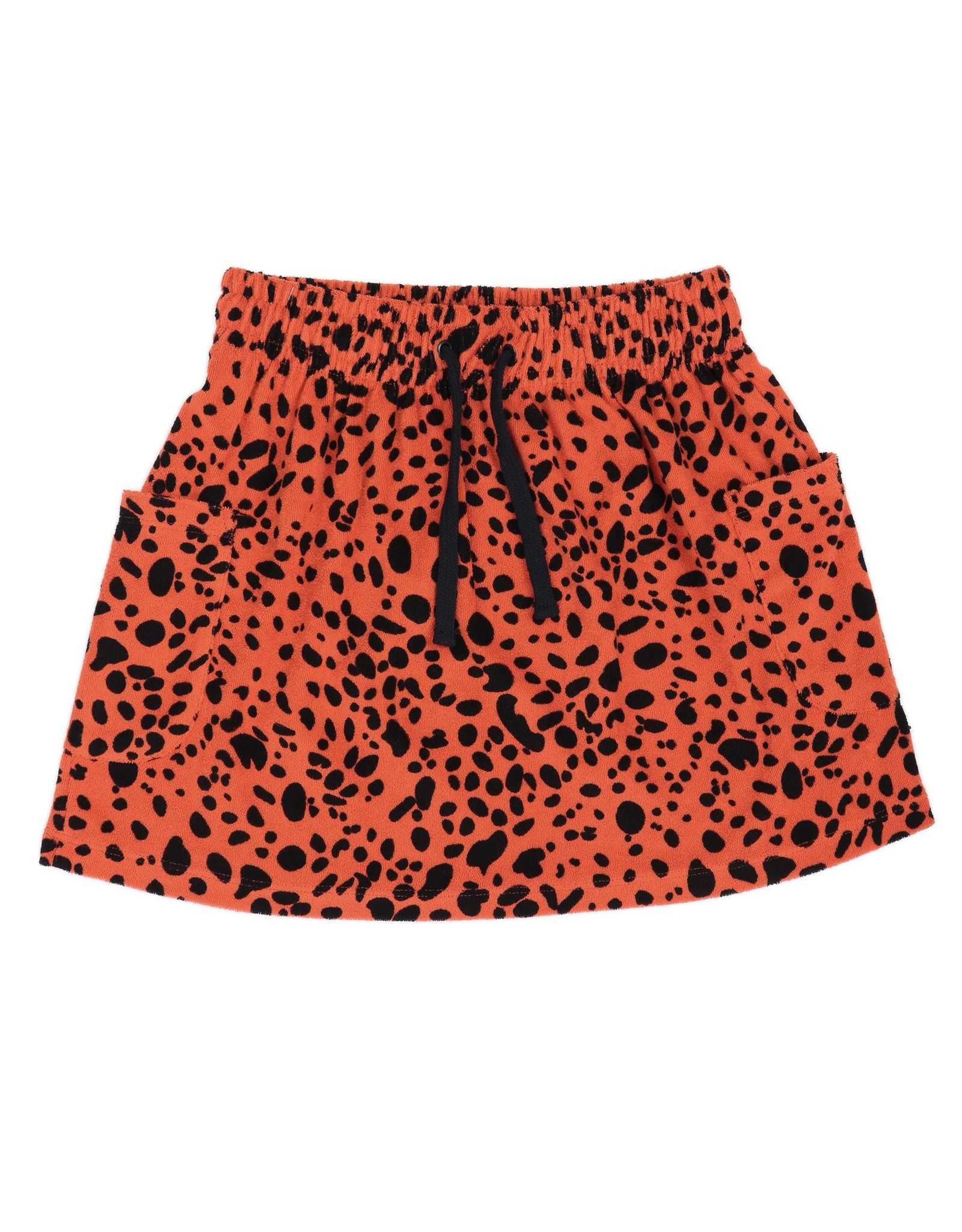 CarlijnQ CarlijnQ Spotted Animal Skirt with Pockets